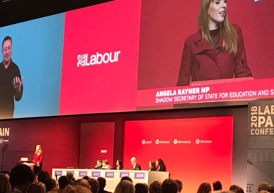 Labour Party Conference report by Caroline Osborne