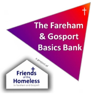 Food Bank Collection for Fareham & Gosport Basics Food Bank.