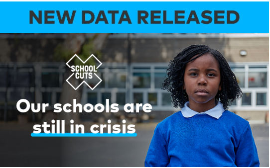 83% of schools still lose out next year because of Government cuts. Is your school on the list?